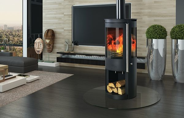 Capital Contour Log Store Multi Fuel Stove