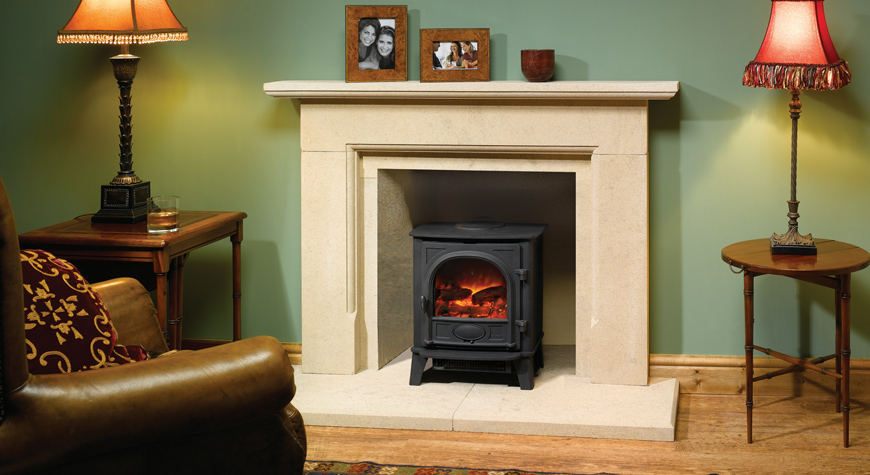 Gazco Stockton 5 Large Electric Stove
