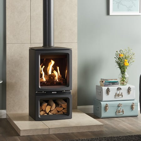 Gazco Vogue Midi Gas Stove | By The Fire