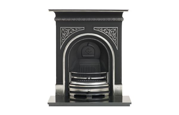 Capital Greenock Highlight cast iron fireplace