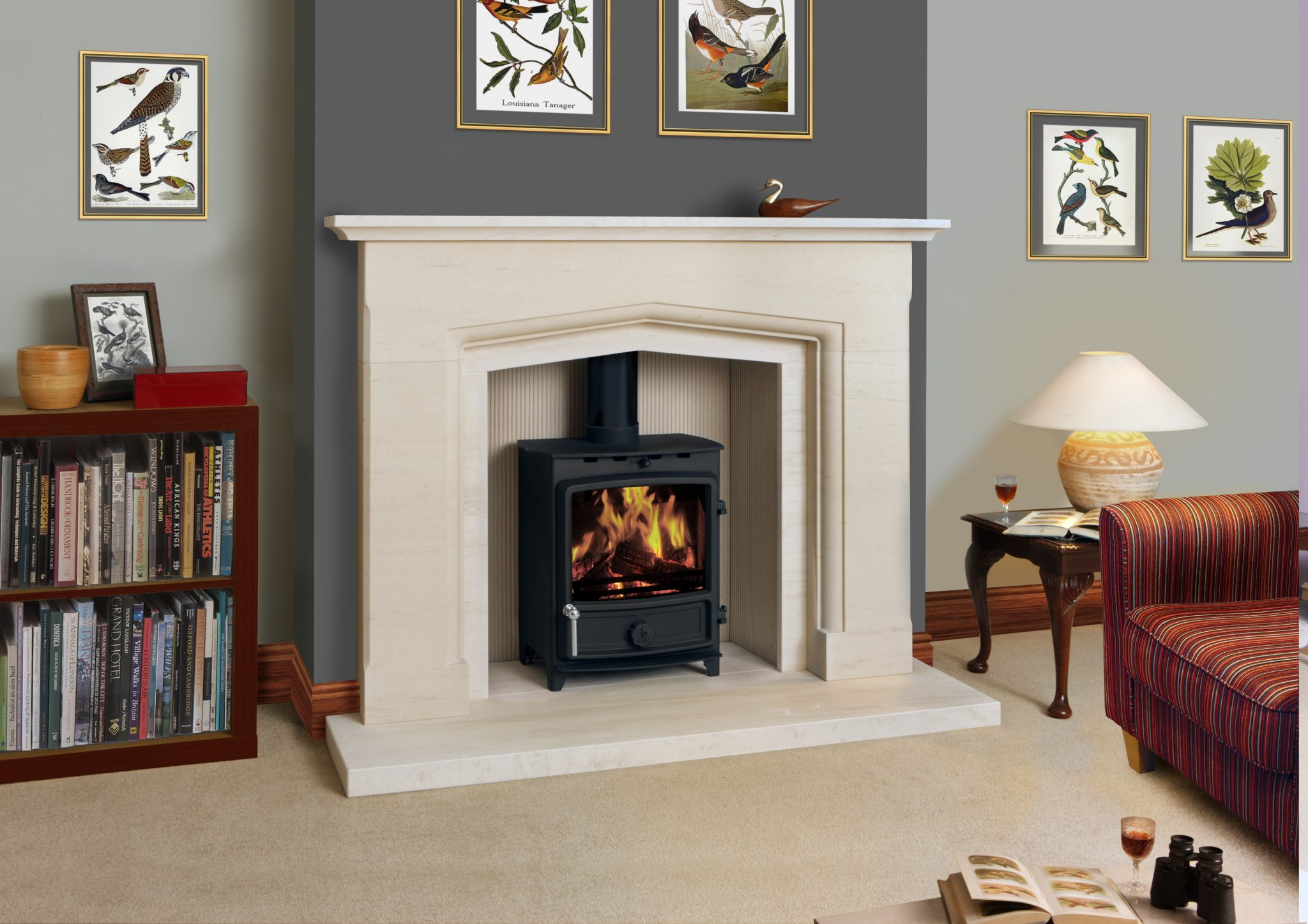 FDC 5W Wood Burning Stove