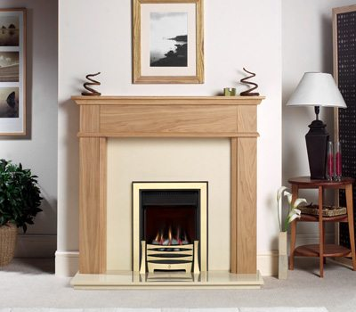 Burley Perception flueless Inset gas fire