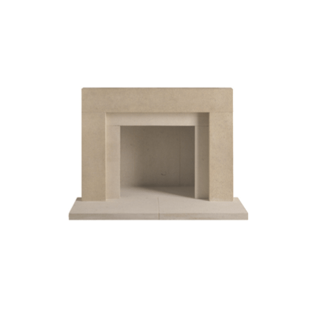 The Wallingford Bathstone Surround Fireplace