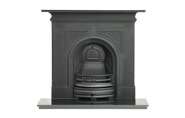 Capital Sydenham Black cast iron fireplace