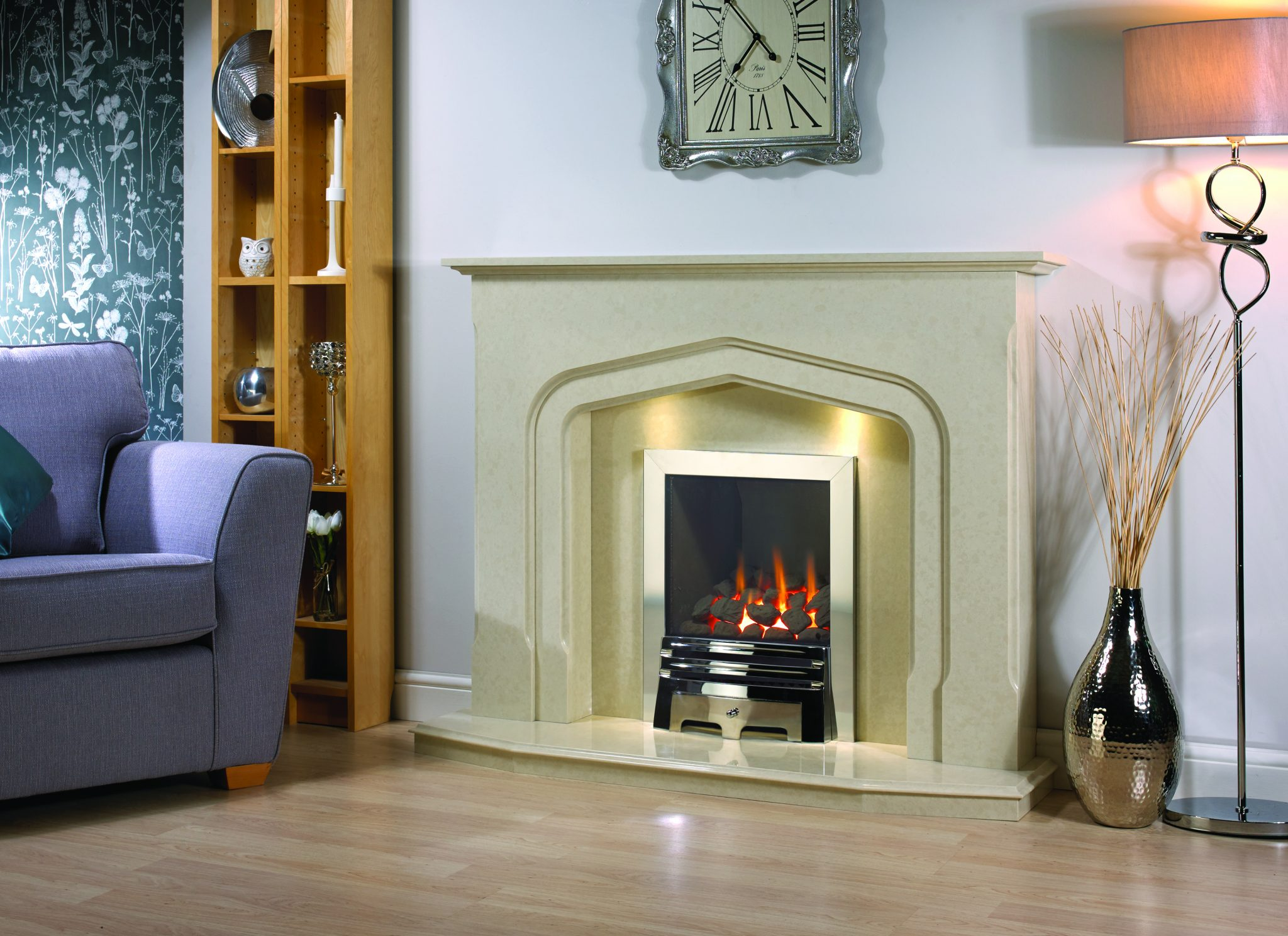 The Windsor micromarble fireplace