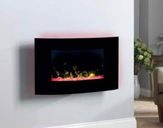 Dimplex Artesia Opti-V Wall Hung Electric Fire