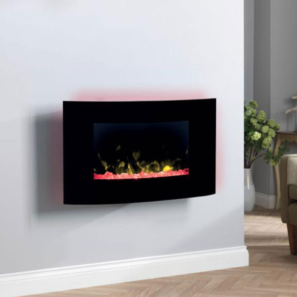 Dimplex Artesia Opti-V Wall Hung Electric Fire