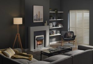 Dimplex Torridon Chrome Optiflame 3D Electric Inset Fire