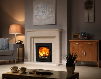 Fireline 5kw Wide Multifuel Inset Stove Engine