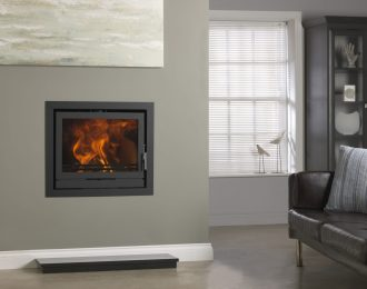Fireline 8kw Multifuel Inset Stove Engine
