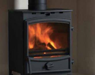 Fireline FX4 4KW Multifuel Stove with Curved Door