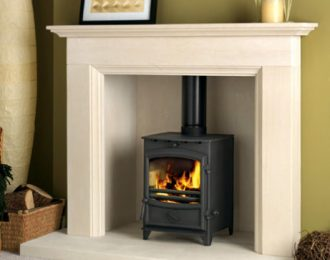 Fireline FX5 Multifuel Stove with curved door