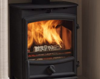 Fireline 5kw Wide Multifuel Stove with Curved Door
