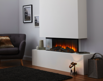 British Fires New Forest 870 Electric Fire