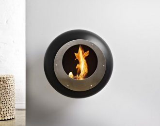 Cocoon Fires- Vellum Wall Mounted Cocoon