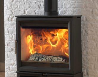 Fireline Woodtec 5kw Extra Wide Woodburning Stove
