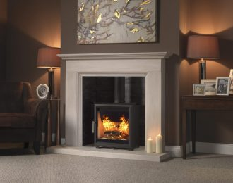 Fireline Woodtec 5kw Wide Woodburning Stove