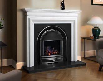 FDC Arundel Aegean Limestone Fireplace