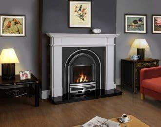 FDC Ascot Aegean Limestone Fireplace