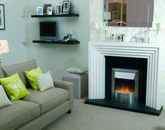Aspen Optiflame Electric Inset Fire