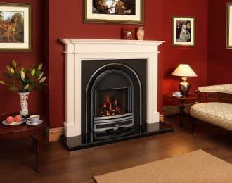 Baverstock Aegean Limestone Fireplace