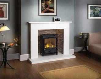 Beckford Aegean Limestone Fireplace