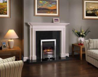 Blenheim Aegean Limestone Fireplace