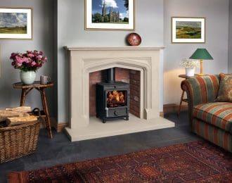 Boscombe Sandstone Fireplace