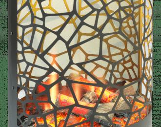 Cellini Opti-V Freestanding Electric Fire