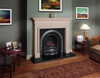 Pembroke Sandstone Fireplace