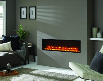 Gazco Radiance 105R Edge Inset Electric Fire