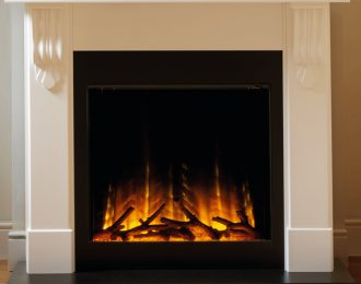 Flamerite Corbel with Gotham 750 Electric Fire