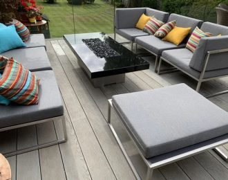 Outdoor Bespoke Fire Tables