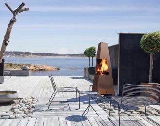JØTUL TERRAZZA XL Outdoor Wood Stove