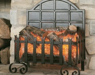 Burley Lyddington Forge Electric Fire