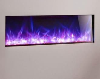 AGA Rayburn Stratus 100 Extra Slim Inset Electric Fire