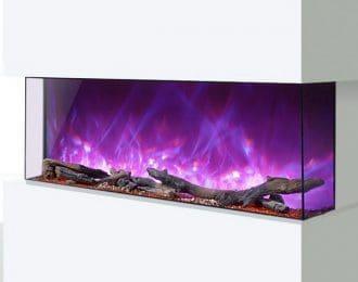 AGA Rayburn Stratus Tru View 125 3-Sided Electric Fire