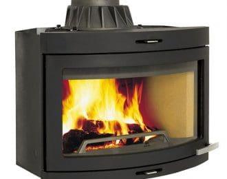 Jøtul I400 Panorama Insert Wood Burning Stove
