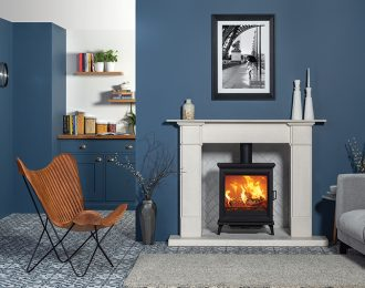 Stovax Sheraton 5 Wide Wood Burning and Multi-fuel Stove