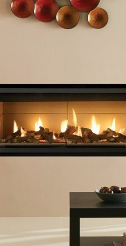 GAZCO RADIANCE 190W WALL MOUNTED ELECTRIC FIRE | By The Fire